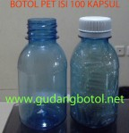 Botol PET 100 kapsul