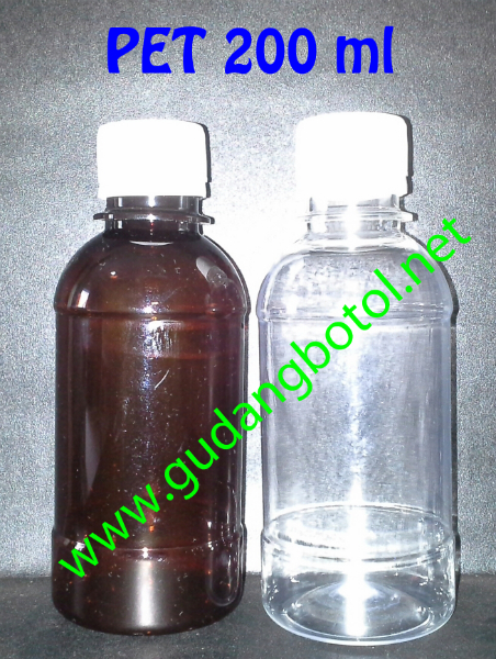 Botol PET 200ml