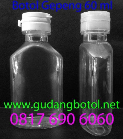 botol gepeng 60ml