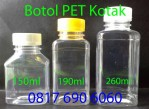 Botol PET KOTAK
