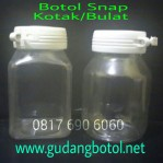 Botol PET tutup Snap