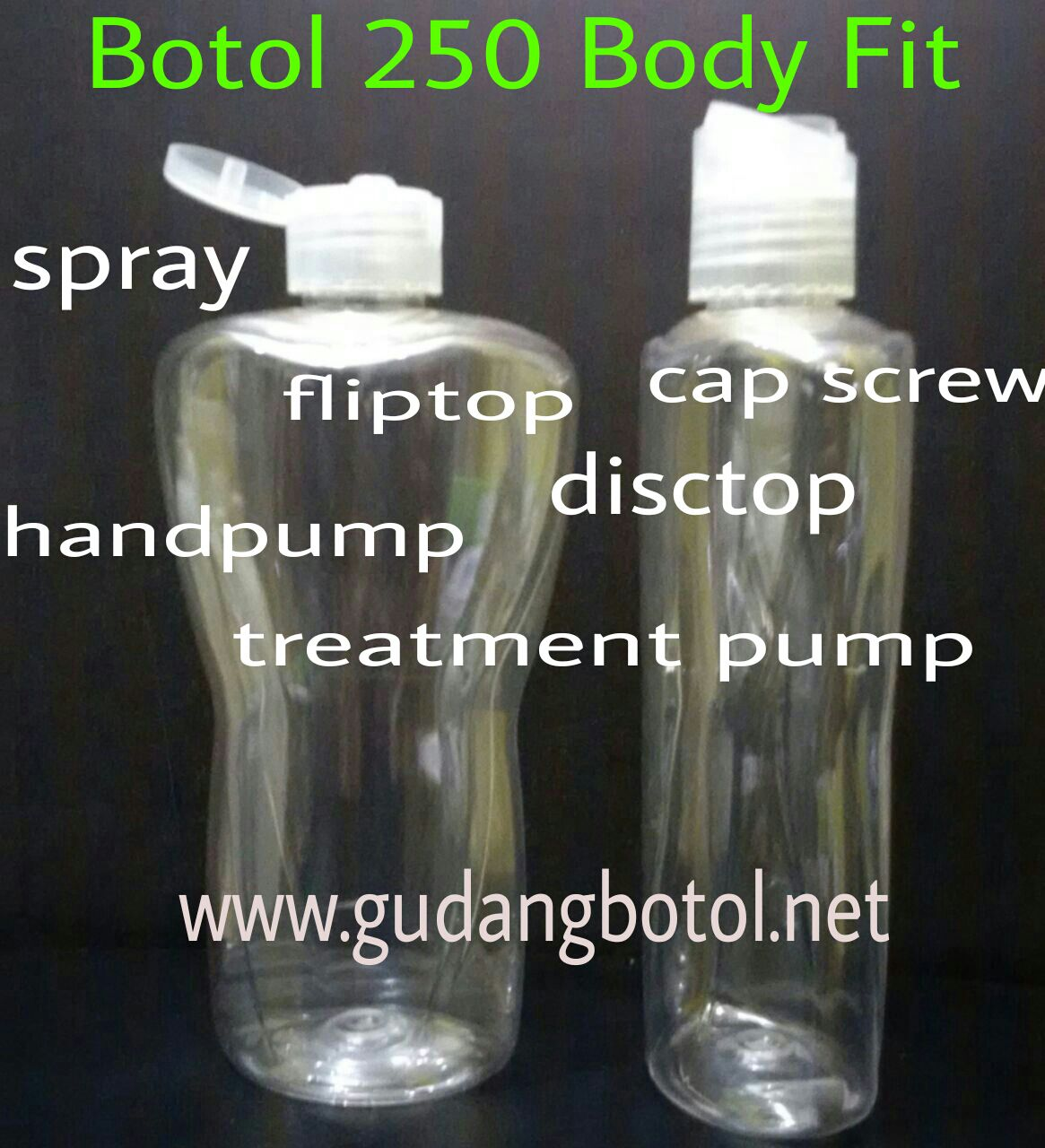 botol 250ml body fit